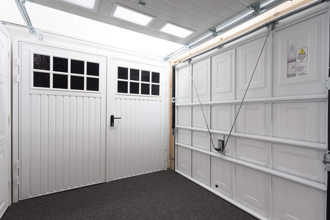 Side Hinged Garage Doors Are Back Where Did They Go