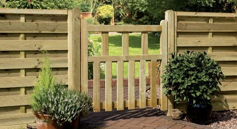 Arabella- A dainty pedestrian gate fitted to two fence panels